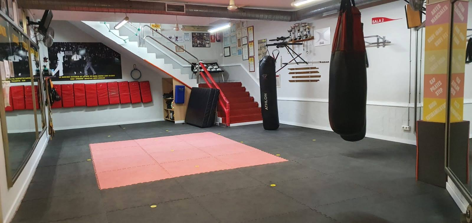 sala de artes marciales