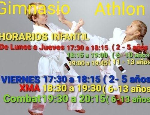 Artes Marciales Infantil (6 años-12 años)