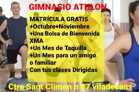 promoción Fitness